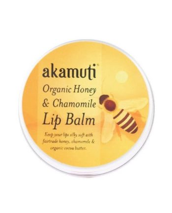 Akamuti Organic Honey and Chamomile Lip Balm -  Nourishing and softening, this recipe combines the purest, natural ingredients.