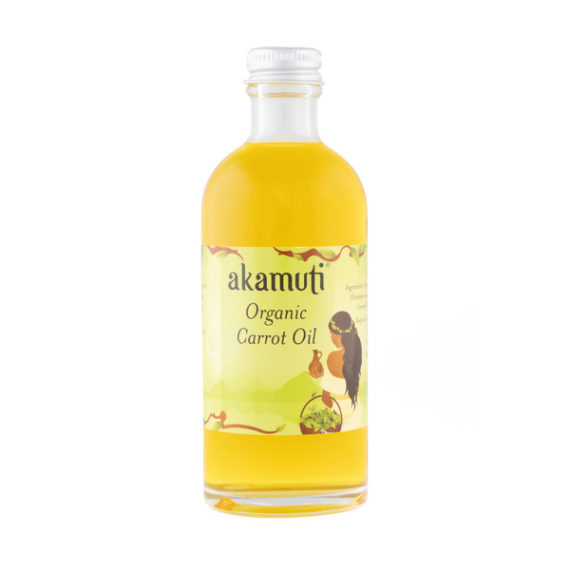 Akamuti Carrot Oil Organic - A beautiful oil capturing all the skin softening qualities of vitamin rich, organic carrot.