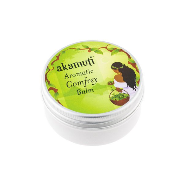 Akamuti Comfrey Balm is a wonderfully aromatic rub blending some of our favouriteessentialoilswith nutrient rich comfrey leaf. We makeour own comfrey oil, using comfrey leaf, extra virgin olive oil and sweet almond oil.