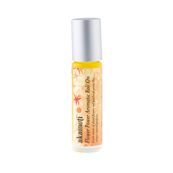 Akamuti Flower Power Roll On - This fragrant pulse point is a unique natural perfume, capturing the exoticflower fragrance of Madagascan ylang ylang.