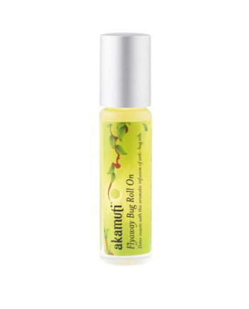 Akamuti Flyaway Bug Roll On - Deter annoying insects & keep pesky creatures at bay with an aromatic combination of our favourite anti-bug essential oils.