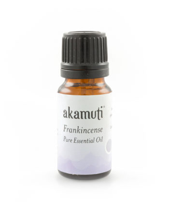 Akamuti Frankincense Essential Oil - Frankincense oil has a wonderful reputation for helping to clear the mind and its rich, spicy aroma is comforting and soothing to the mind and body. I