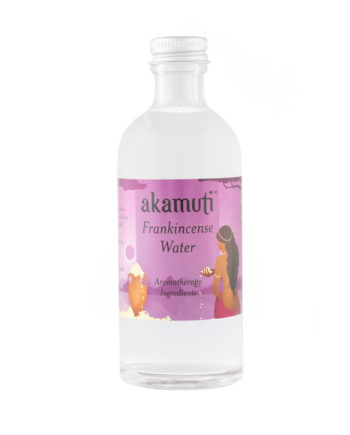 Akamuti Frankincense Water - Frankincense has wonderful rejuvenating properties and is a purifying skin tonic.