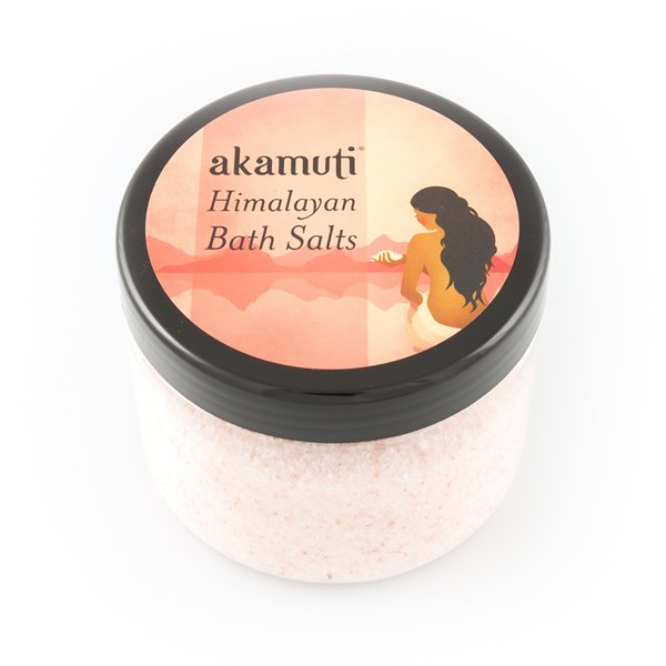 Akamuti Himalayan Bath Salts - As well as being beautiful to look at, this gorgeous salt is also an incredible source of minerals & elements essential to health.