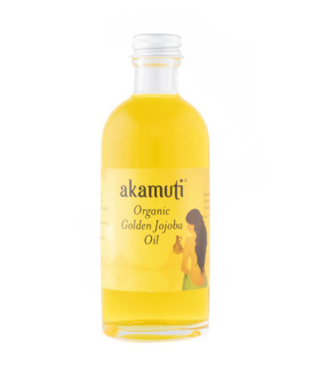 Akamuti Organic Golden Jojoba Oil - Organic jojoba oil closely matches the skins own natural oils, which is why it is especially good for settling oily and greasy complexions.