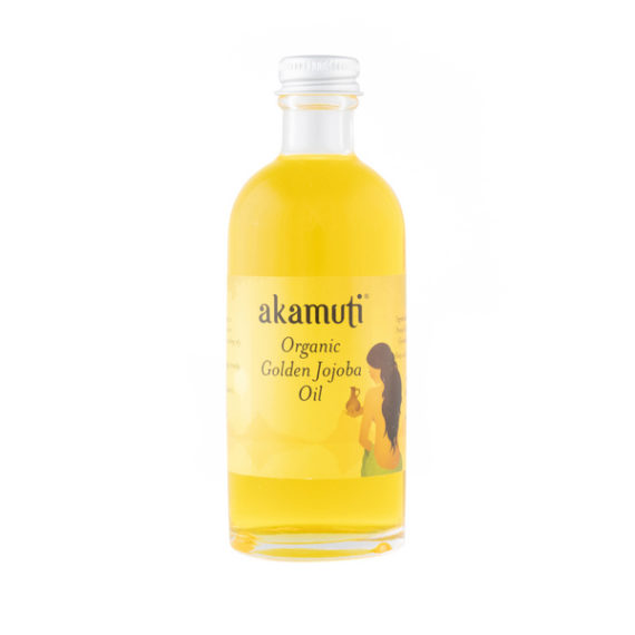 Akamuti Organic Golden Jojoba Oil - Organic jojoba oil closely matches the skins own natural oils, which is why it is especially good for settling oily andgreasy complexions.