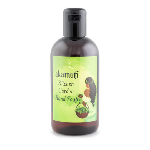 Akamuti Kitchen Garden Liquid Soap - Kind and caring to the skin, this natural, organic liquid soap provides gentle and effective cleansing.