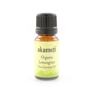 Akamuti Lemongrass Organic Essential Oil - A zesty oil which has powerful purifying & toning properties, which makes it helpful for combating cellulite and congested skin.