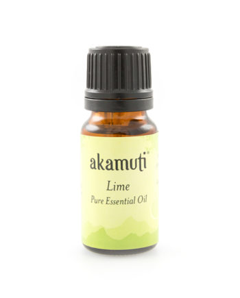 Akamuti Lime Essential Oil - A fresh, citrus oil with a sharp tangy aroma. It is reputed to be wonderfully uplifting, being stimulating and refreshing.