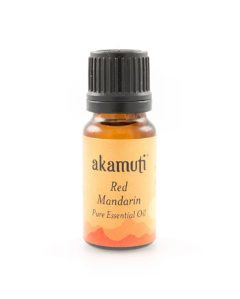 Akamuti Mandarin Red Essential Oil - A relaxing and reviving oil with fruity tones. Great for adding to massage oils for a fruity skin tonic to optimise the skin tone, making it a useful choice for cellulite.