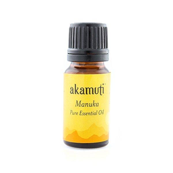 Akamuti Manuka Pure Essental Oil - Sometimes called New Zealand tea tree, you can use Manuka oil on problem and oilyskin types.
