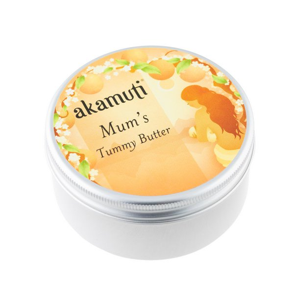 Akamuti Mums Tummy Butter - Our natural tummy butter is formulated specifically to promote skin elasticity and hydration, to ensure your skin stays healthy and smooth throughout your pregnancy.