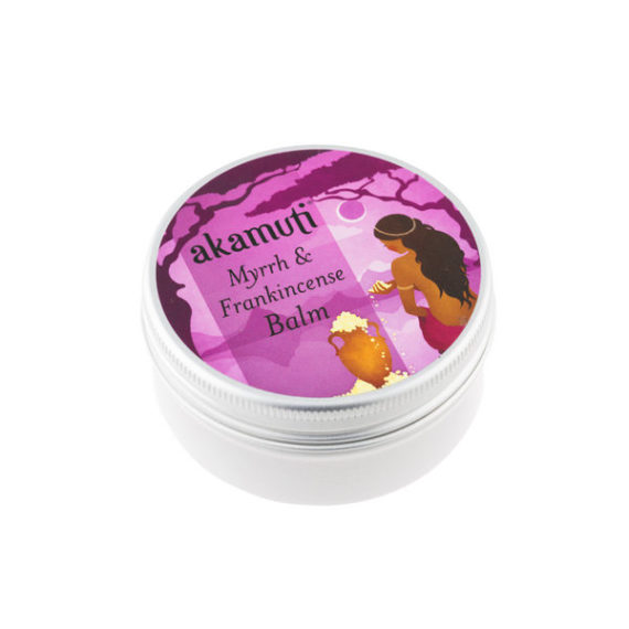 Akamuti Myrrh & Frankincense Balm - This rich luxurious balm combines the power of two aromatic tree resins, frankincense and myrrh.