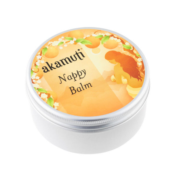 Akamuti Nappy Balm - This soothing nappy balm is an excellentbarrier balm for baby's bottom. Soothing andcooling toirritated skin, this balm actsas a barrier to keep moisture out.