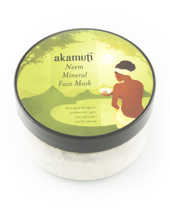 Akamuti Neem Mineral Mask - This therapeutic formulation teams powerful, purifying neem with sundried green clay and amla.