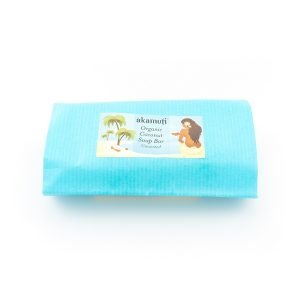 Akamuti Organic Coconut Soap Bar - It is ideal for the most sensitive skin and perfect for delicate dry skin.