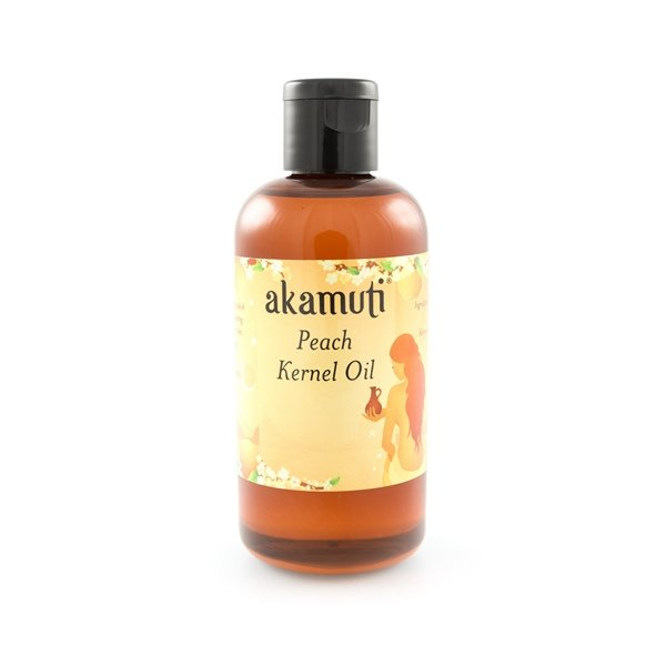 Akamuti Peach Kernel Oil - A very light and pleasant oil, peach kernel oil is ideal for massage.