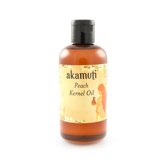 Akamuti Peach Kernel Oil - A very light andpleasant oil,peach kernel oil isideal for massage.