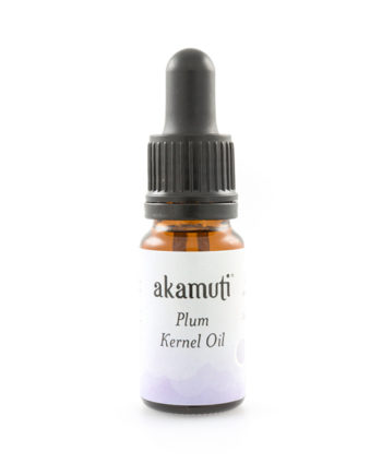 Akamuti Plum Kernel Oil - This beautifully fragrant cold pressed oil comes from plum kernels.
