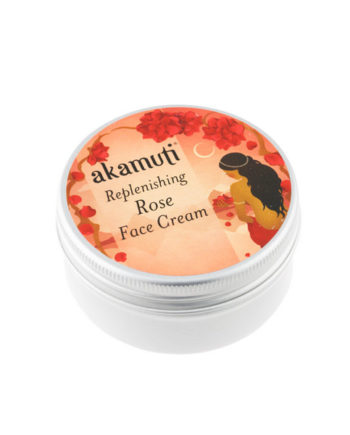 Akamuti Replenishing Rose Face Cream - Replenishing rose face cream is a wonderful moisturiser rich in nutrients and vitamins essential for healthy skin maintenance and repair.