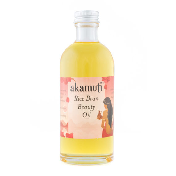 Akamuti Rice Bran Beauty Oil - Rice bran beauty oil is traditionally used to cleanse and purify the skin.
