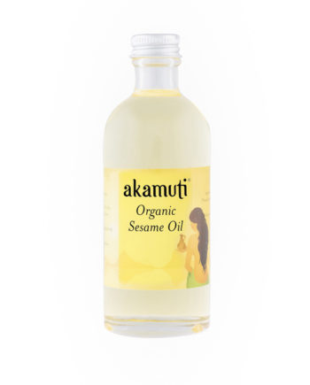 Akamuti Sesame Seed Organic - Used in Ayurveda for thousands of years, sesame oil is outstanding for keeping your skin soft and supple.