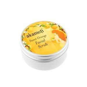 Akamuti Sweet Orange Facial Scrub - This completely natural facial scrub is a gentle, moisturising exfoliator