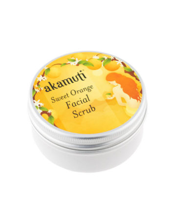 Akamuti Sweet Orange Facial Scrub - This completely natural facial scrub is a gentle, moisturising exfoliator