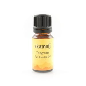 Akamuti Tangerine Essential Oil - Tangerine oil is so versatile.  Its sweet, fresh aroma makes it superb for clearing the head, promoting clarity and emotional balance.
