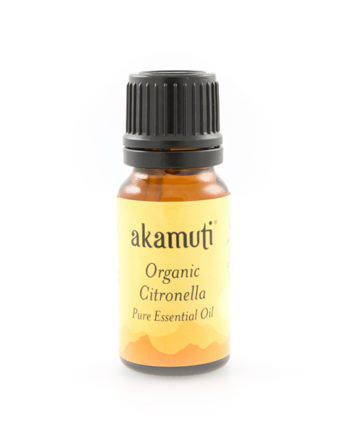 Akamuti Citronella Organic Essential Oil - A natural odour-eater, citronella is a useful oil with a warm, fresh fruity aroma.