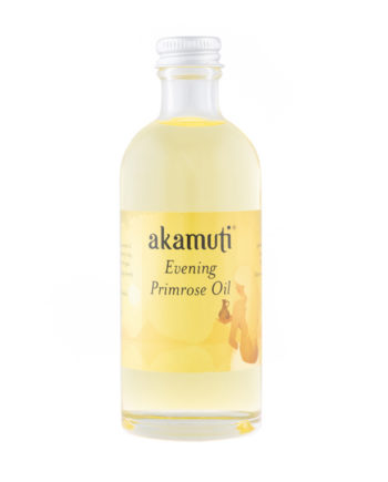 Akamuti Evening Primrose Oil - A wonderful oil, rich in vitamin E & GLA, it helps to prevent premature ageing of the skin & maintaining skin elasticity.