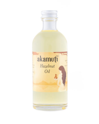 Akamuti Hazelnut Oil - Soothing hazelnut oil is rich in proteins & is perfect for facial moisturising. Hazelnut is also mildly astringent making it the choice for poor skin tone.