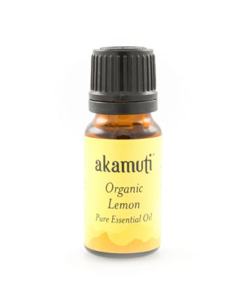 Akamuti Lemon Organic Essential Oil - Light and citrusy, this is an uplifting and refreshing oil with gentle, caring qualities, encouraging the feelings of well-being and increasing energy.