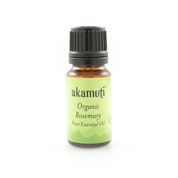 Akamuti Rosemary Organic Essential Oil - Rosemary is stimulating and invigorating so don't drop this one in the bath if you want a good nights sleep!