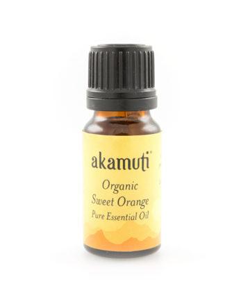 Akamuti Organic Sweet Orange Essential Oil - Organicsweet orange essential oil is light,fruityand is uplifting and refreshing.