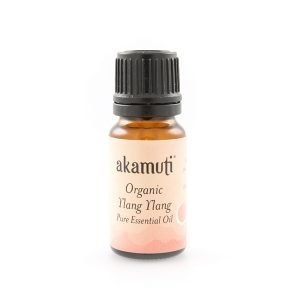 Akamuti Ylang Ylang Organic Essential Oil - Ylang ylang is gorgeous to use on your hair - as well as leaving its sweet, lingering smell it also encourages healthy looking hair.
