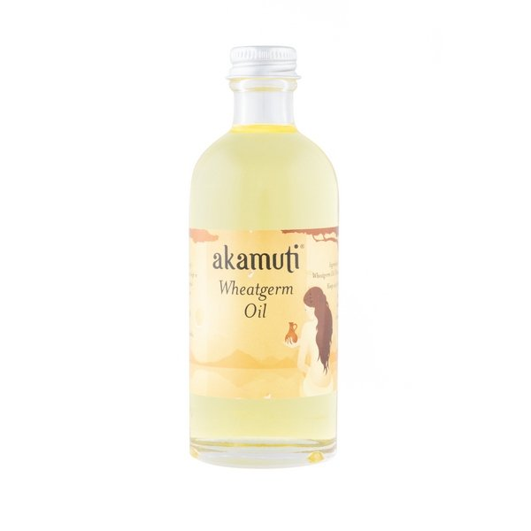 Akamuti Wheatgerm Oil 100ml - Wheatgerm is such a rich source of vitamin E that it can be used as a natural anti-oxidant to prevent other oils from going rancid.