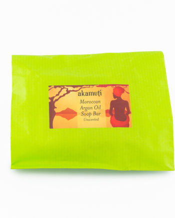 Akamuti Unscented Argan Soap Bar - A beautifully simple soap made with nourishing shea butter and argan oil. Argan oil is a traditional Moroccan skincare oil, fantastic for maintaining healthy skin.