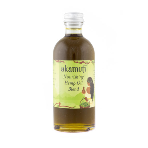 Akamuti Nourishing Hemp Oil Blend - A nourishing powerhouse of oils designed to soothe very dry and sensitive skin.