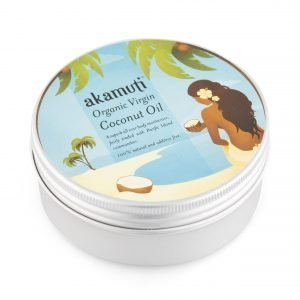 Akamuti Organic Virgin Coconut Oil - This wonderful coconut oil smells absolutely delicious! 100% natural, organic and cold pressed, it has a pure white colour and a superb natural coconut aroma.