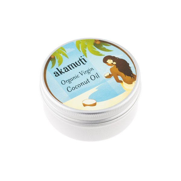 Akamuti Organic Coconut Oil - This wonderful coconut oil smells absolutely delicious!100% natural, organic and cold pressed, it has a pure white colour and asuperb natural coconut aroma.